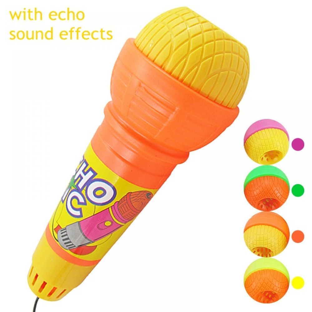 Music /& Sound Echo Microphone Musical Toys for Kids Singing Xmas Gifts