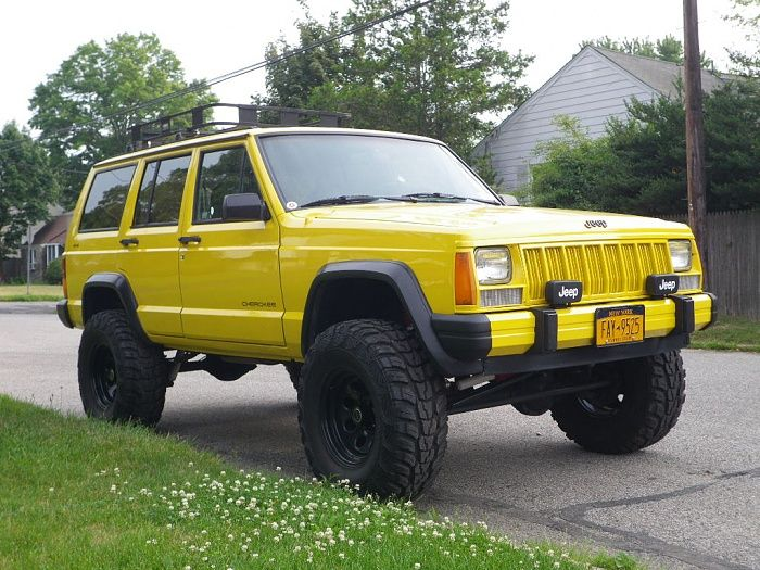 Yellow Jeep Cherokee | Jeeps | Pinterest | Cherokee, Jeeps and Jeep