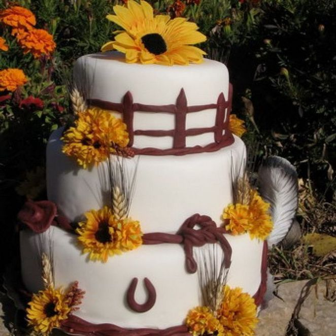 Cowgirl Wedding Ideas: 48+ Characteristics Of Wedding Cake Ideas Rustic Country
