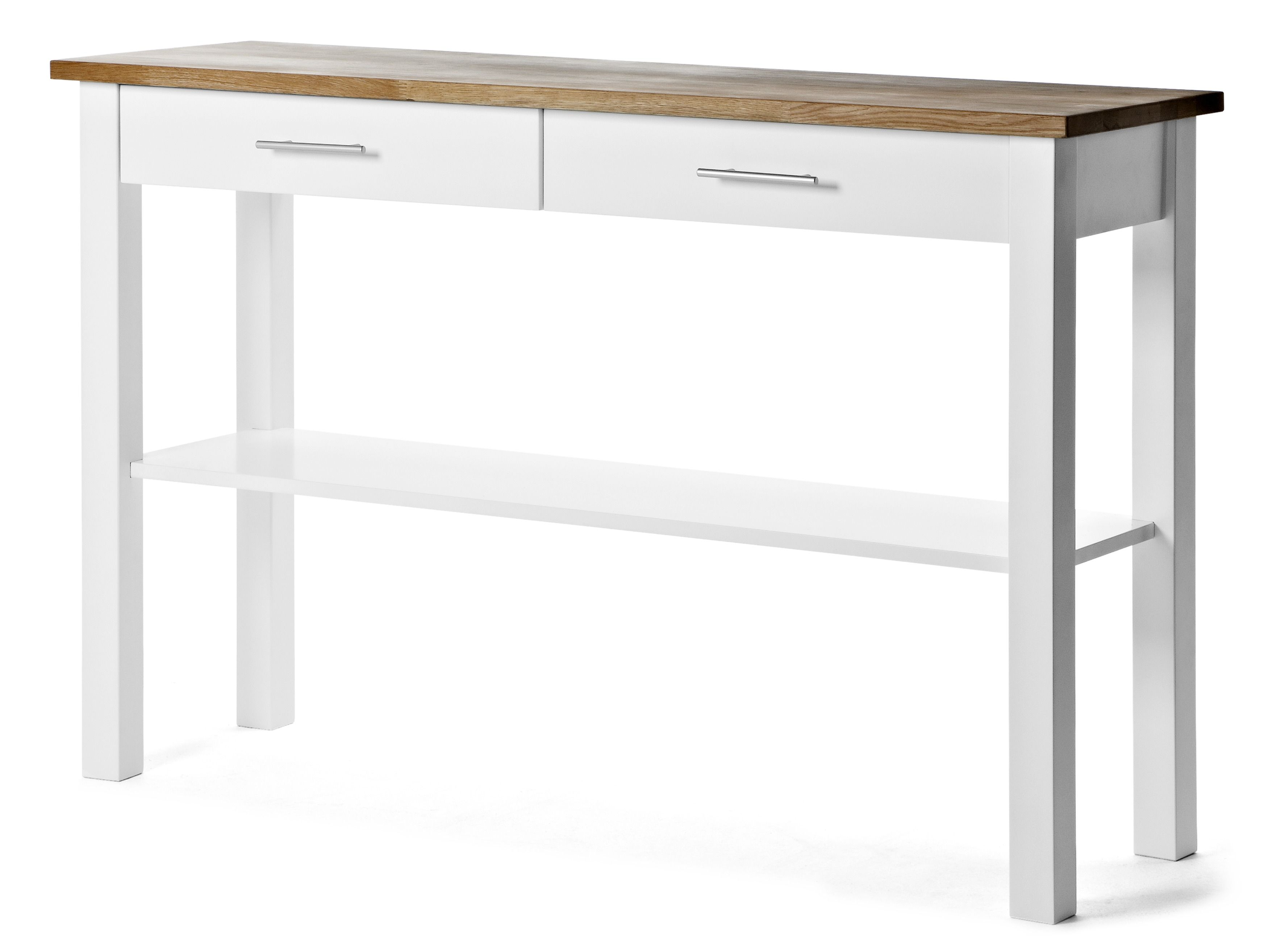 Dalarö avlastningsbord har en diskret skandinavisk charm med tydlig design och rättframma