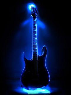 blue guitar wallpaper for mobile google search shakitha music