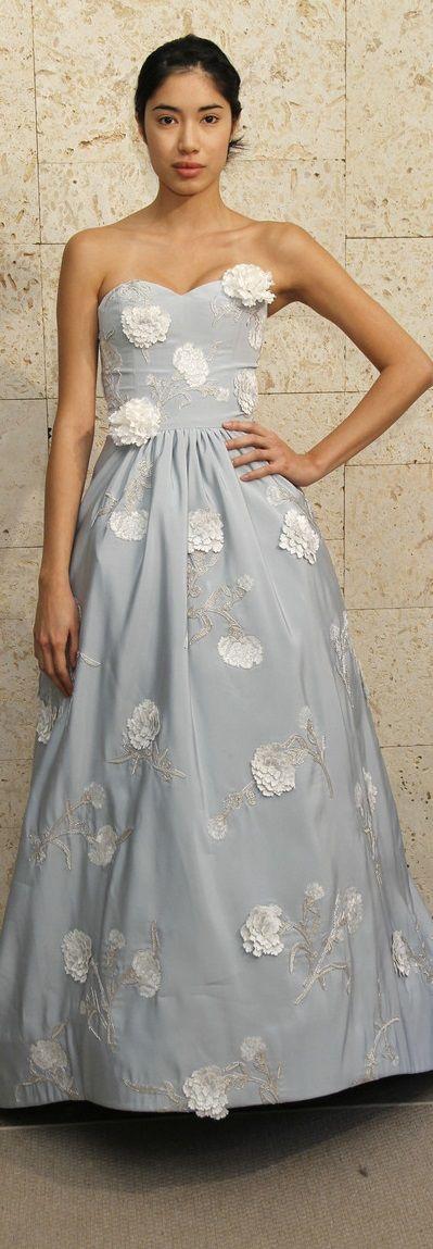 Oscar de la Renta bridal 2011.