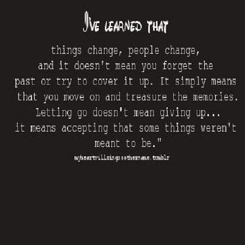 I Ve Known This But Sometimes It S So Hard To Let Go Of Do