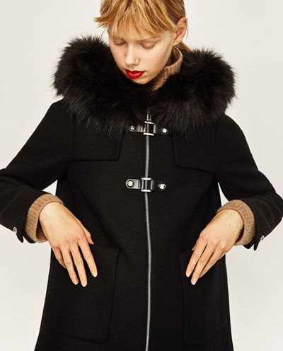 A LINE DUFFLE COAT View All OUTERWEAR WOMAN | ZARA United