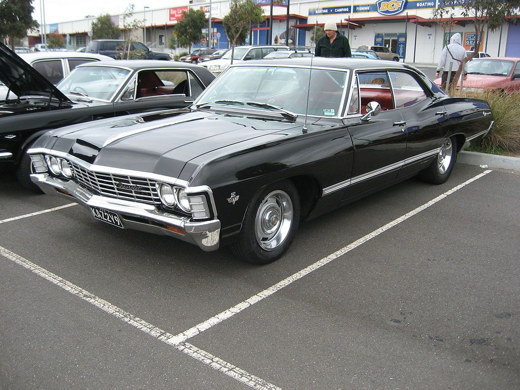 1967 chevrolet impala 4 door hardtop supernatural s rie. Black Bedroom Furniture Sets. Home Design Ideas