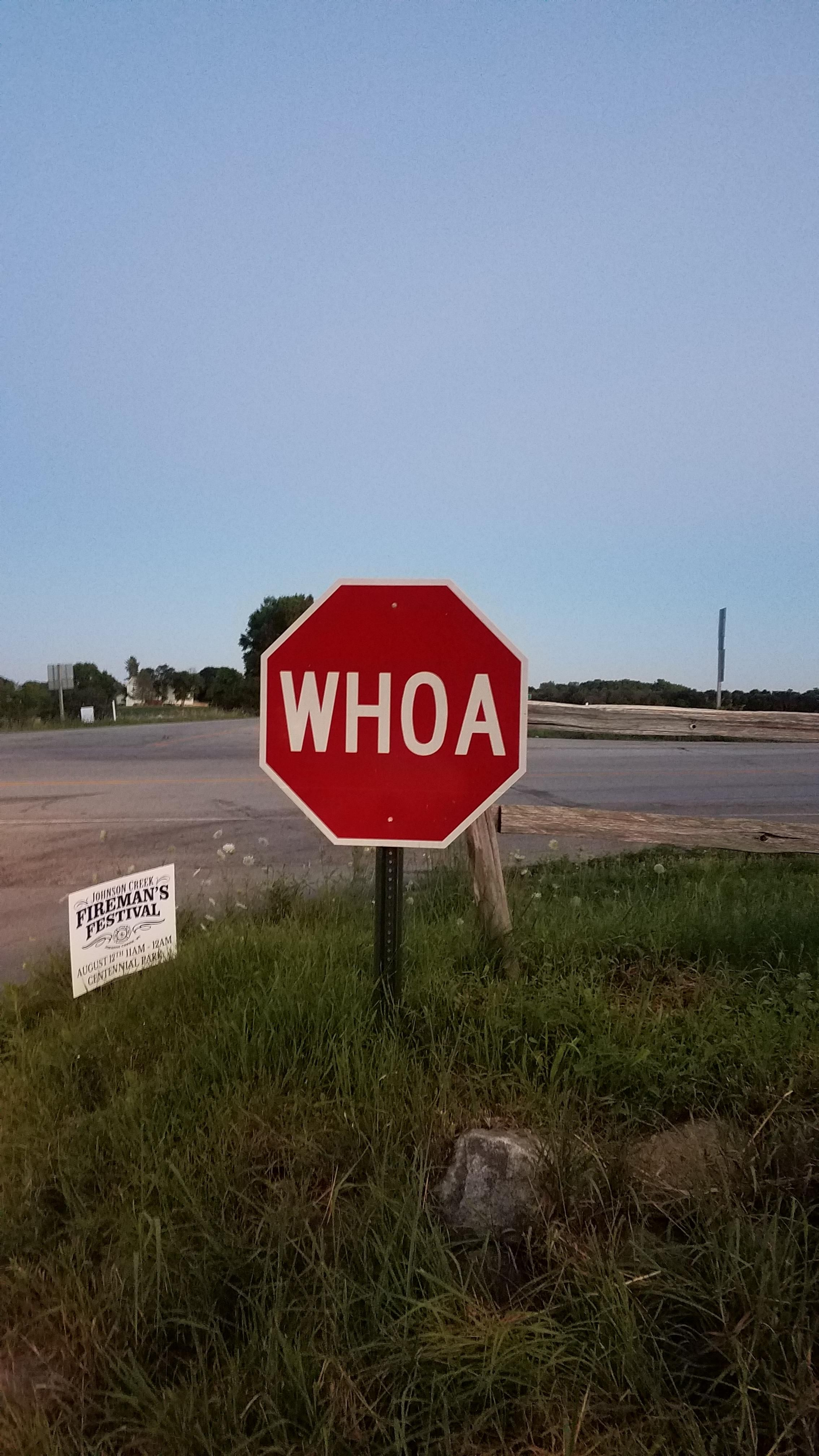 Found This Stop Sign