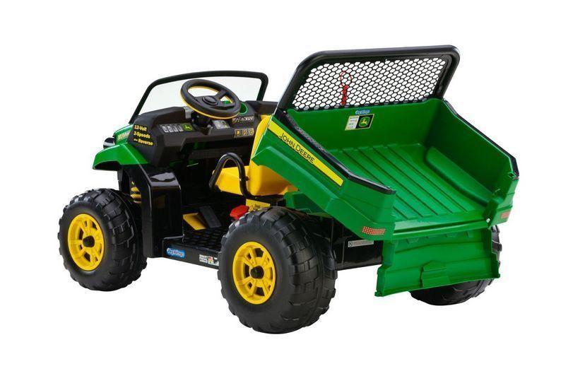 John Deere Ride On Toys >> Electric Jeep Car John Deere Suv Kids Ride On 12v Battery Powered