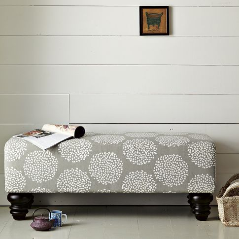 Love This Bench From West Elm Cute In An Entry Way Or At