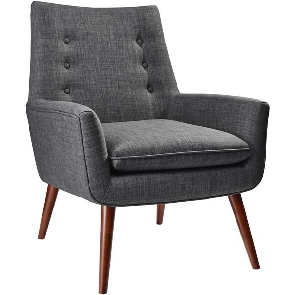 Adrian Chair Charcoal Gray Accent Chairs Furniture