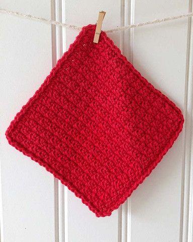 Christmas Dishcloths Set Crochet Pattern Crochet Patterns And