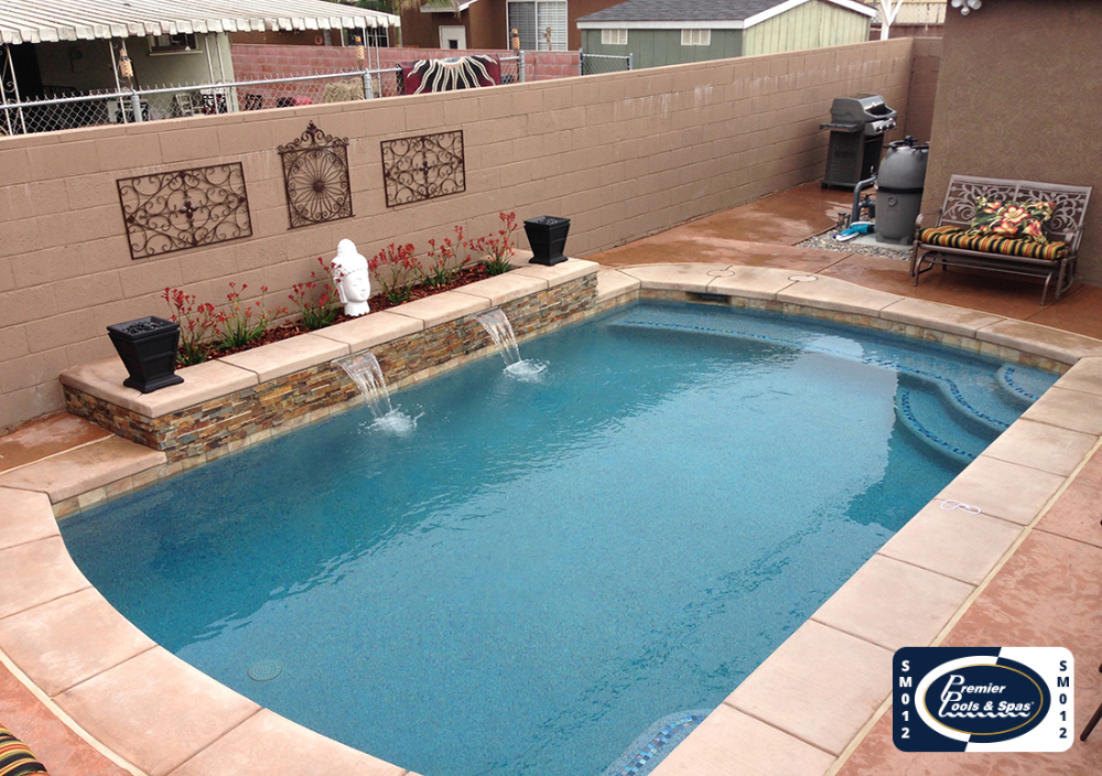 Small Pools Premier Pools Spas Pool Builders And Contractors Small Pools Pools For Small Yards Little Pool