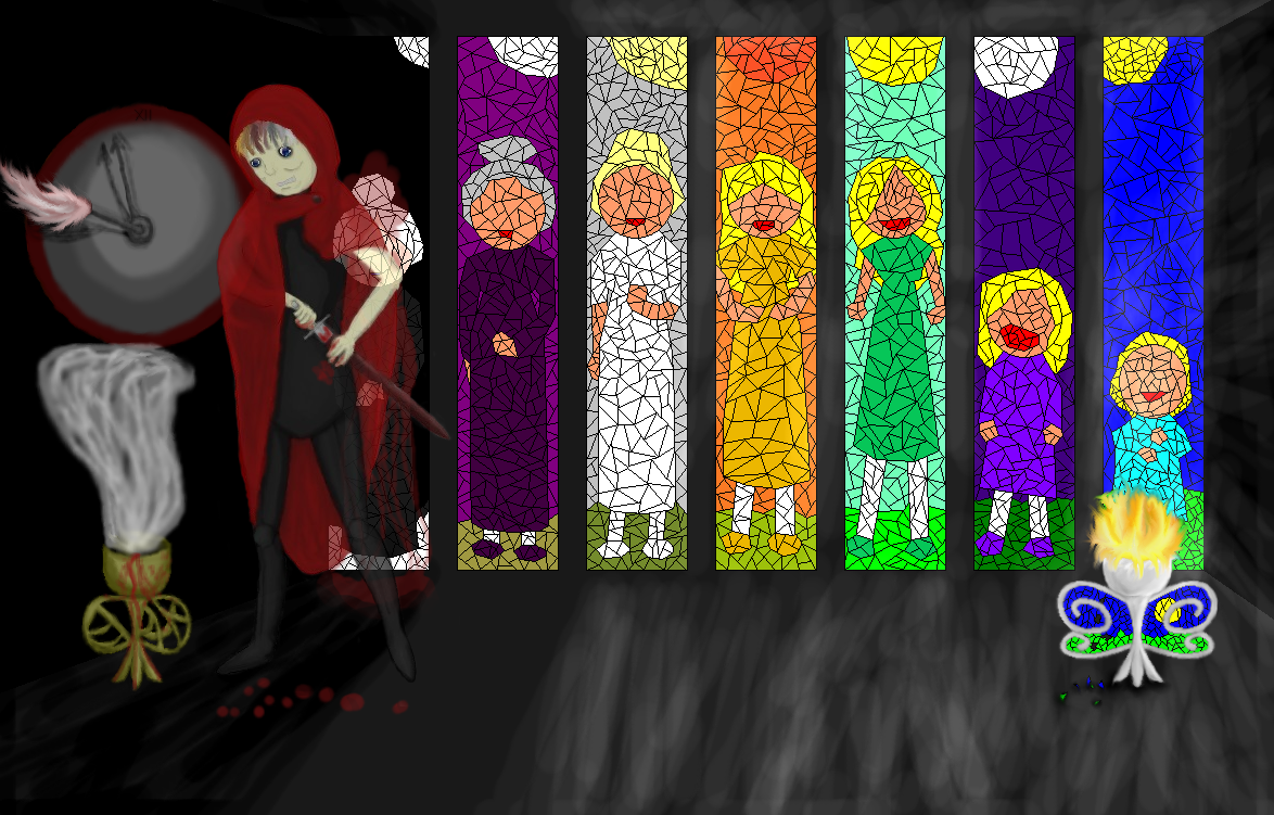 The Masque Of The Red Death Rooms Colors