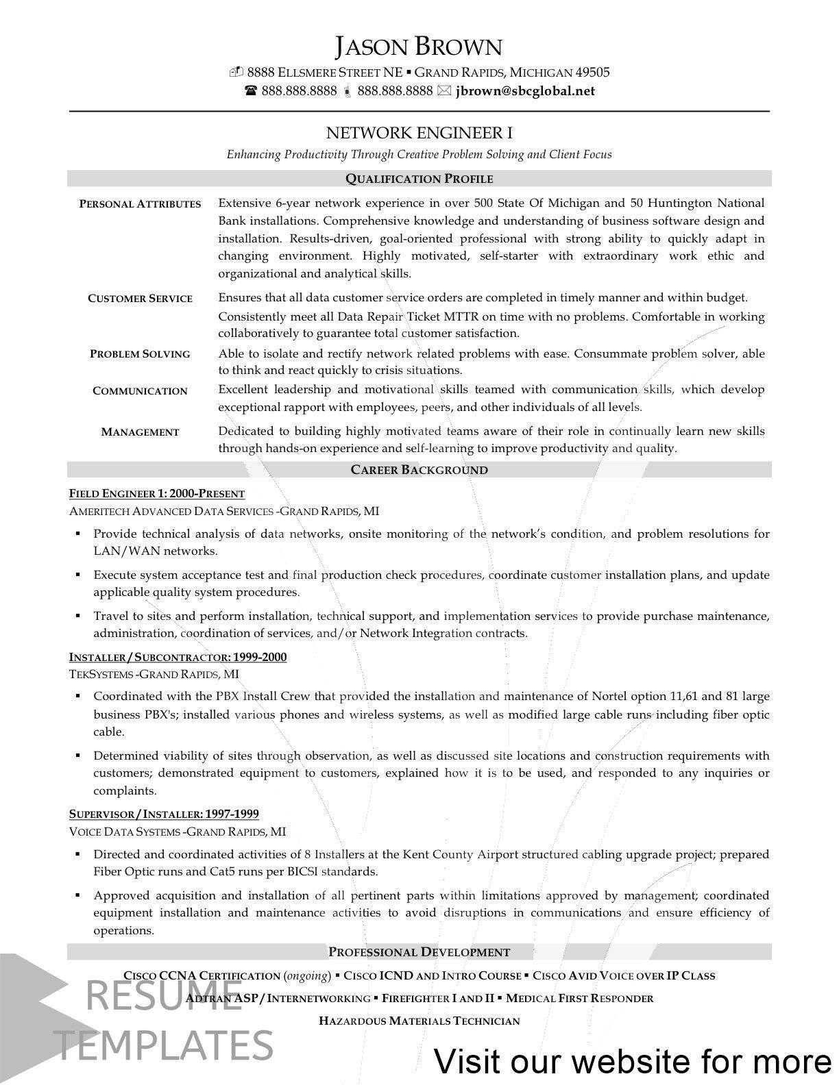 33 Resume Design Minimalist Creative Cv Network Engineer Sample Resume Resume