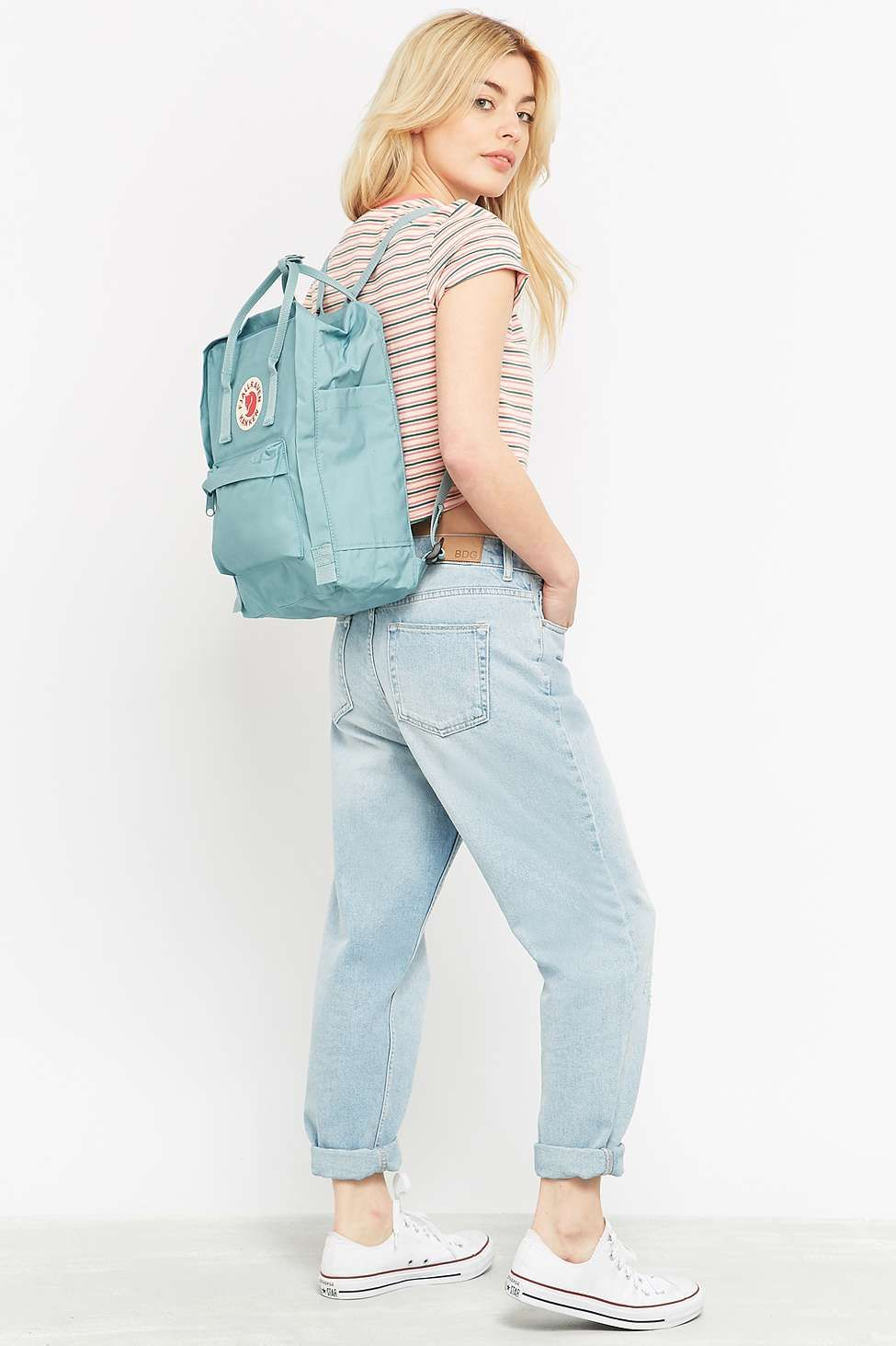Fjallraven Kanken Classic Sky Blue Backpack Absolutely Love This Ocean Green
