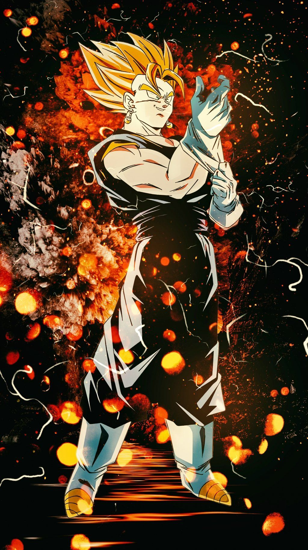 Top 8 Dbz Super Vegetto 4k Vertical Wallpapers Dragon Ball Dragon Ball Z Gogeta And Vegito