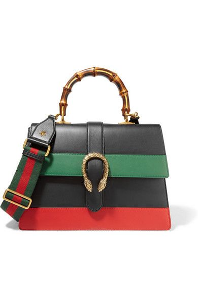 40ac5e757 GUCCI Dionysus Large Paneled Leather Shoulder Bag. #gucci #bags #shoulder  bags #hand bags #leather