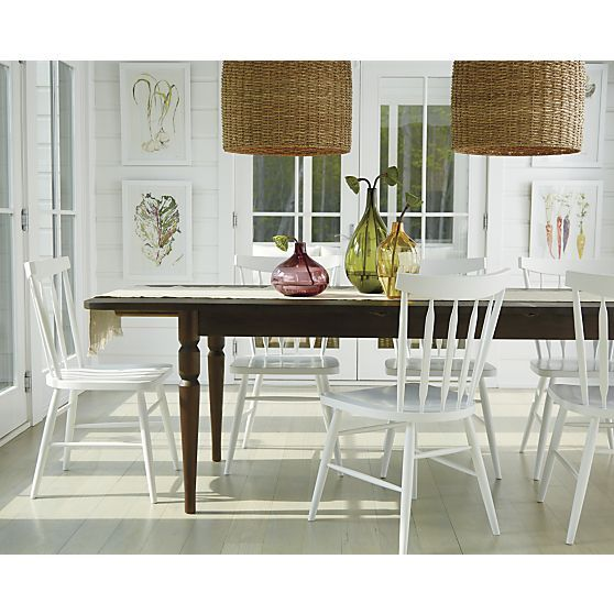 Fremont Small Extension Table Crate And Barrel Chambre