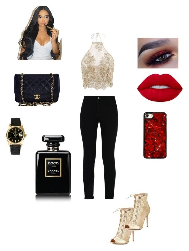"""Untitled #206"" by indij13 ❤ liked on Polyvore featuring STELLA McCARTNEY, Gianvito Rossi, Chanel and Rolex"