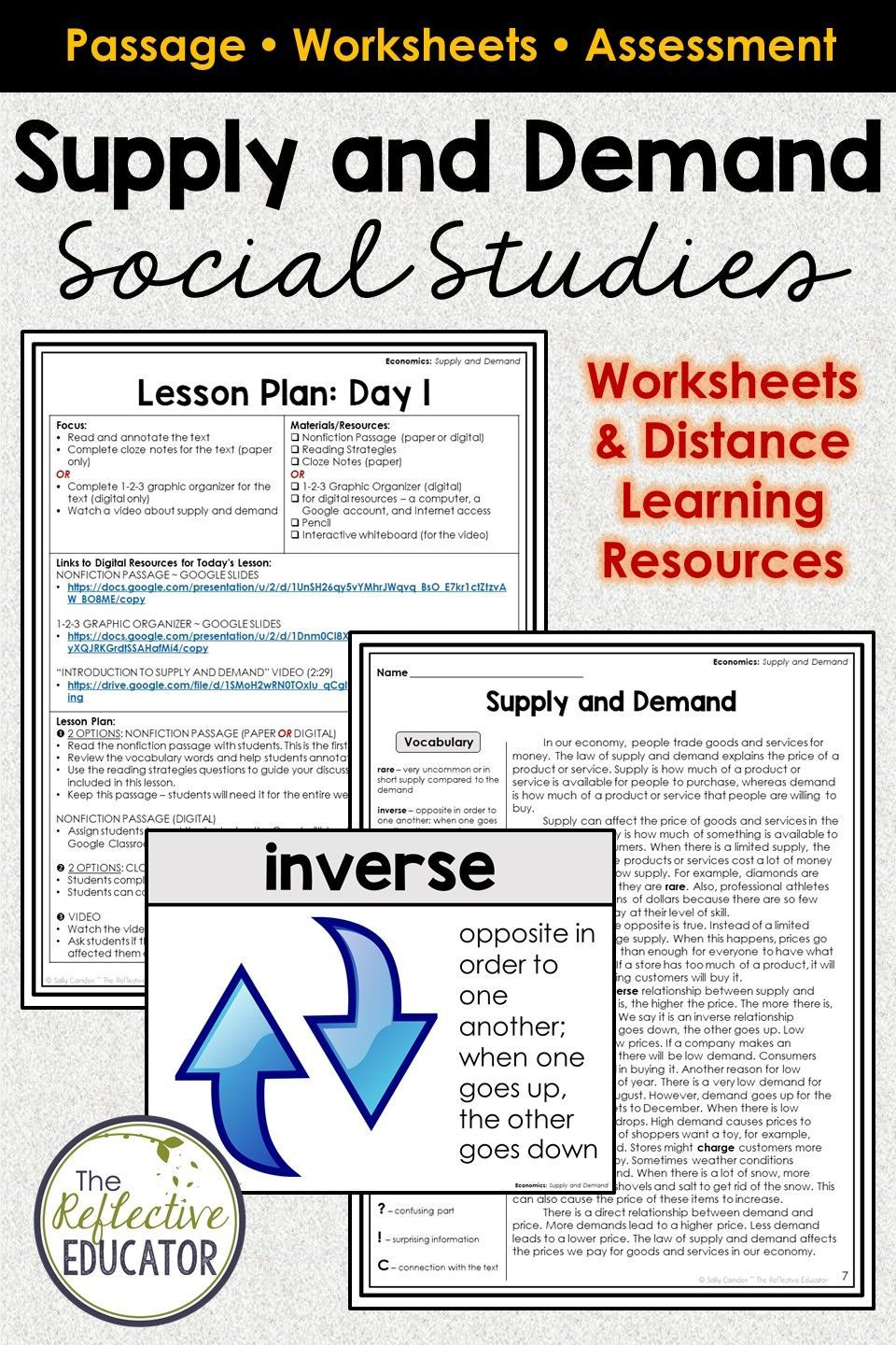 hight resolution of 20+ Supply And Demand Review Worksheet - Photographs Of Socio-economic