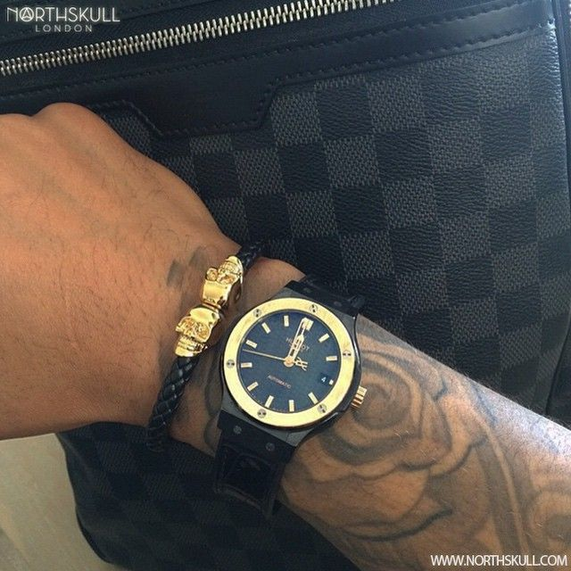 Fan Instagram Pic With His Louis Vuitton Bag To Hand Dutch Footballer Gzuiverloon Is Rea Mens Accessories Fashion Bracelets For Men Men S Fashion Jewelry
