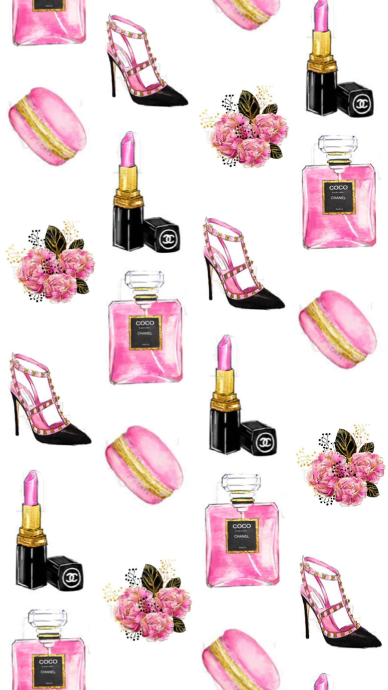 Pinterest: @EnchantedInPink | Backgrounds in 2019 | Chanel wallpapers, Fashion wallpaper ...