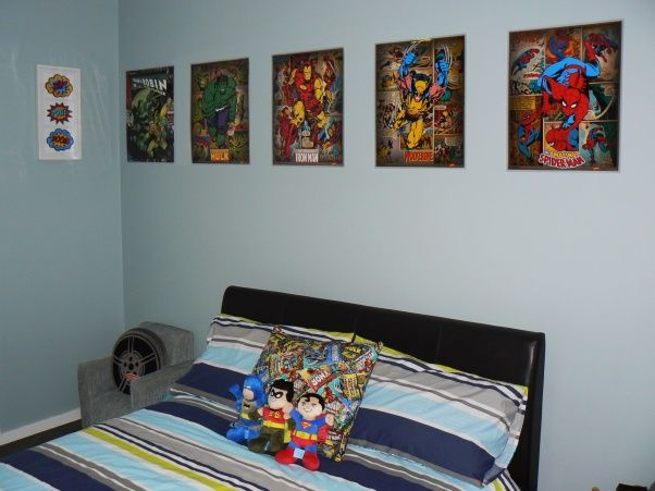 marvel comics bedroom ideas | ... \' - Boys\' Room Designs ...