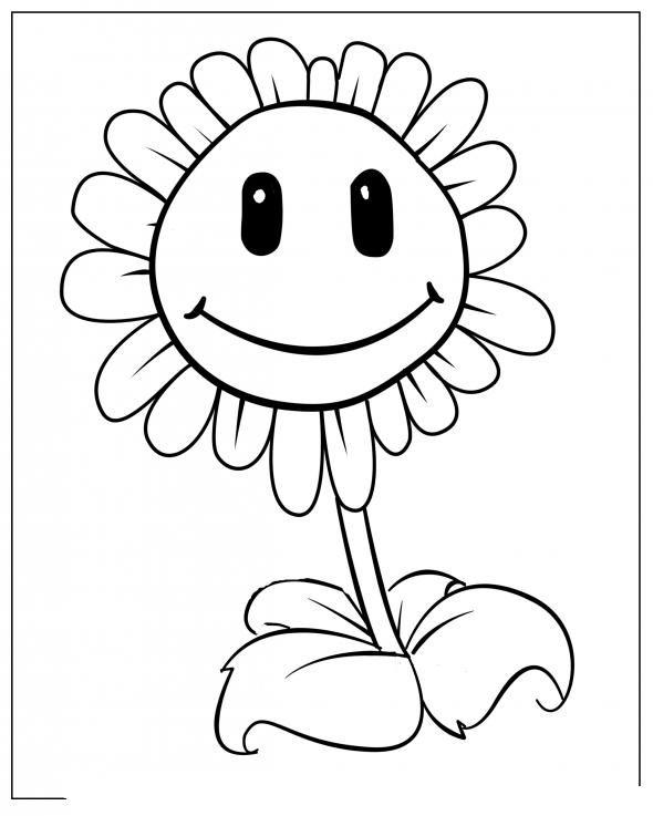 Plants Vs Zombie Coloring Page Com Imagens Desenhos Para