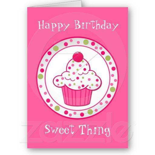 Sweet treat girls birthday greeting card sweet girl birthday and sweet treat girls birthday greeting card m4hsunfo
