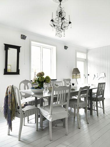 10 Déco salle à manger grise pour su0027inspirer Bunker house and House - table de salle a manger grise