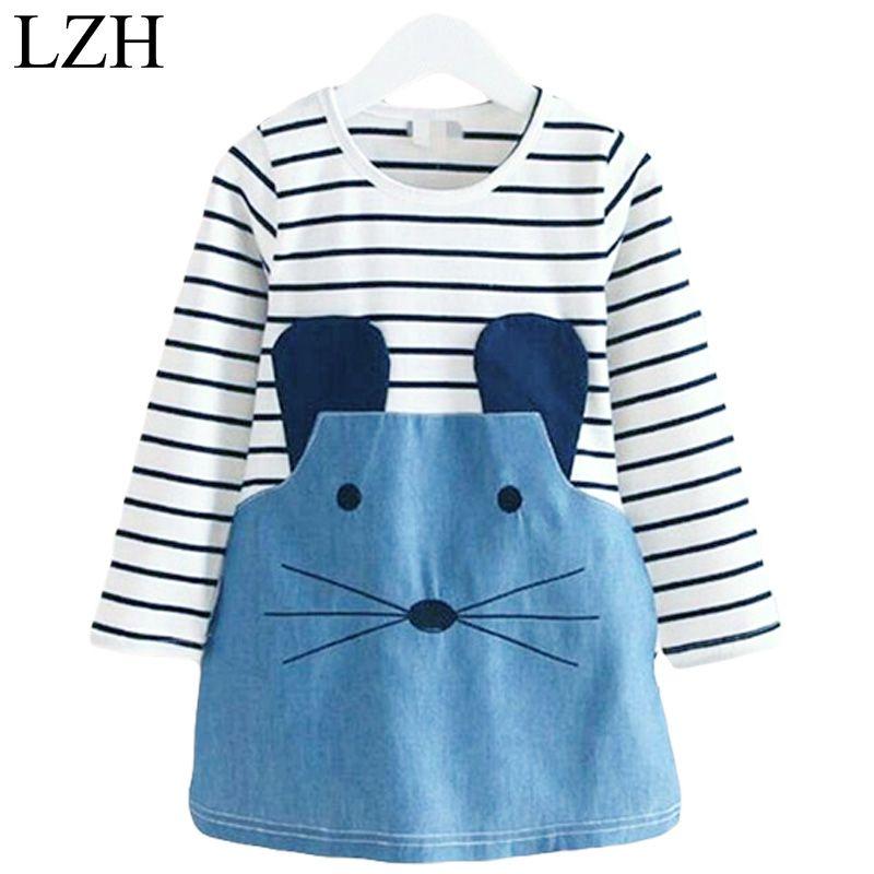 $1.33 (Buy here: https://alitems.com/g/1e8d114494ebda23ff8b16525dc3e8/?i=5&ulp=https%3A%2F%2Fwww.aliexpress.com%2Fitem%2FBaby-Girls-Dress-For-Girls-Party-Dress-Kids-Clothes-Cute-Cartoon-Stripe-Casual-Dresses-Grils-2017%2F32769841812.html ) Baby Girls Dress For Girls Party Dress Kids Clothes Cute Cartoon Stripe Casual Dresses Grils 2017 New Spring Children's Clothing for just $1.33