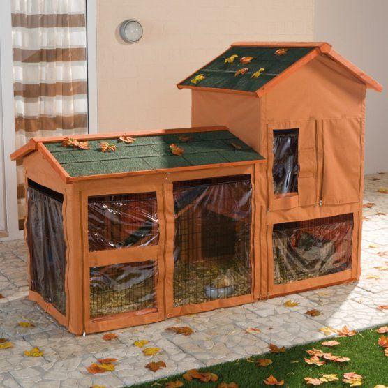 wetterschutz f r nagerstall natura meerschweinchen k fig pinterest meerschweinchen k fig. Black Bedroom Furniture Sets. Home Design Ideas