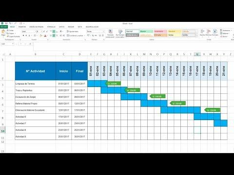Gantt Chart Excel Template Xls - Templates Collections