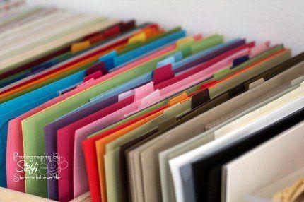 Papier ordentlich aufbewahren mit PRÄNT • Stempelwiese