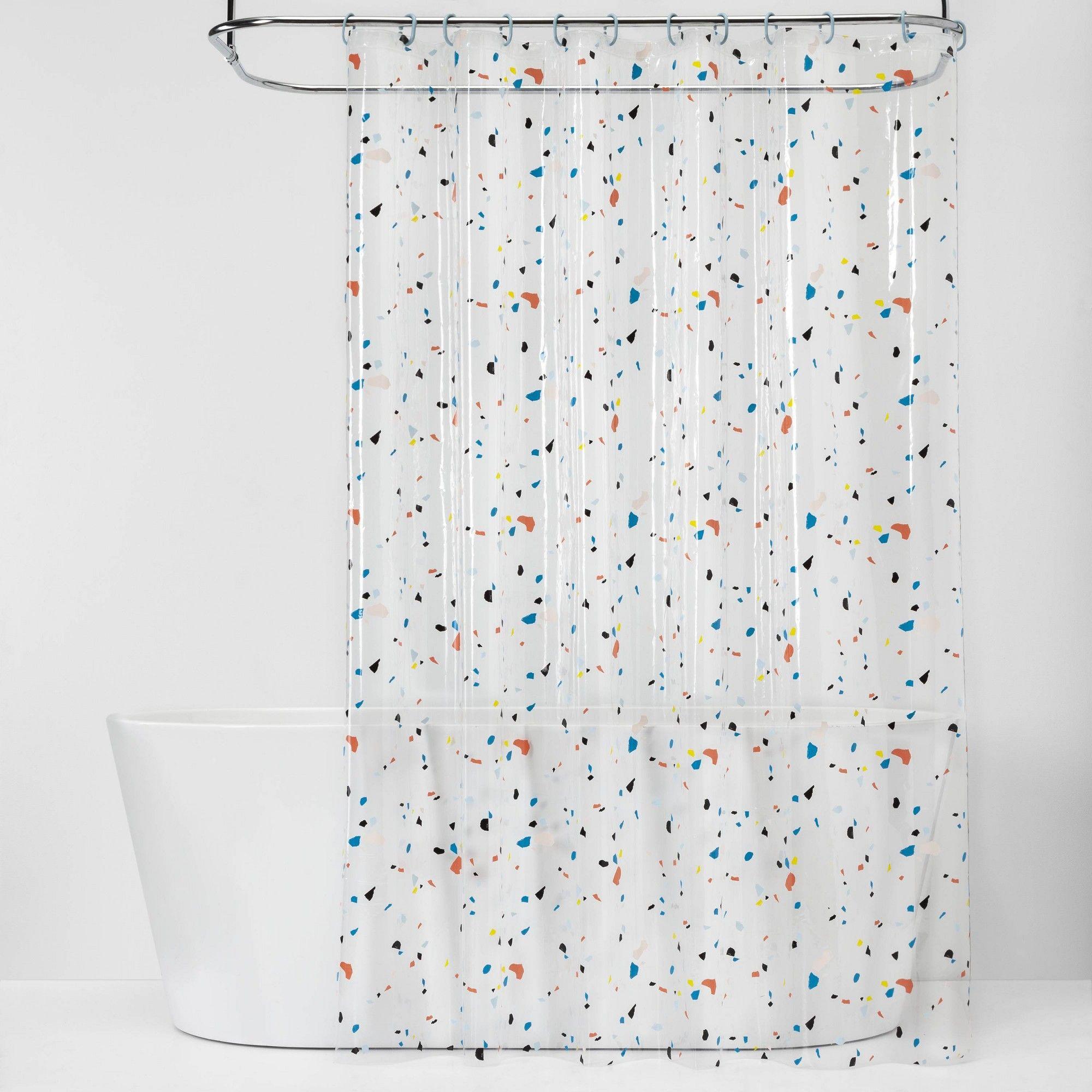 Confetti Shower Curtain Bundle Room Essentials Multi Colored