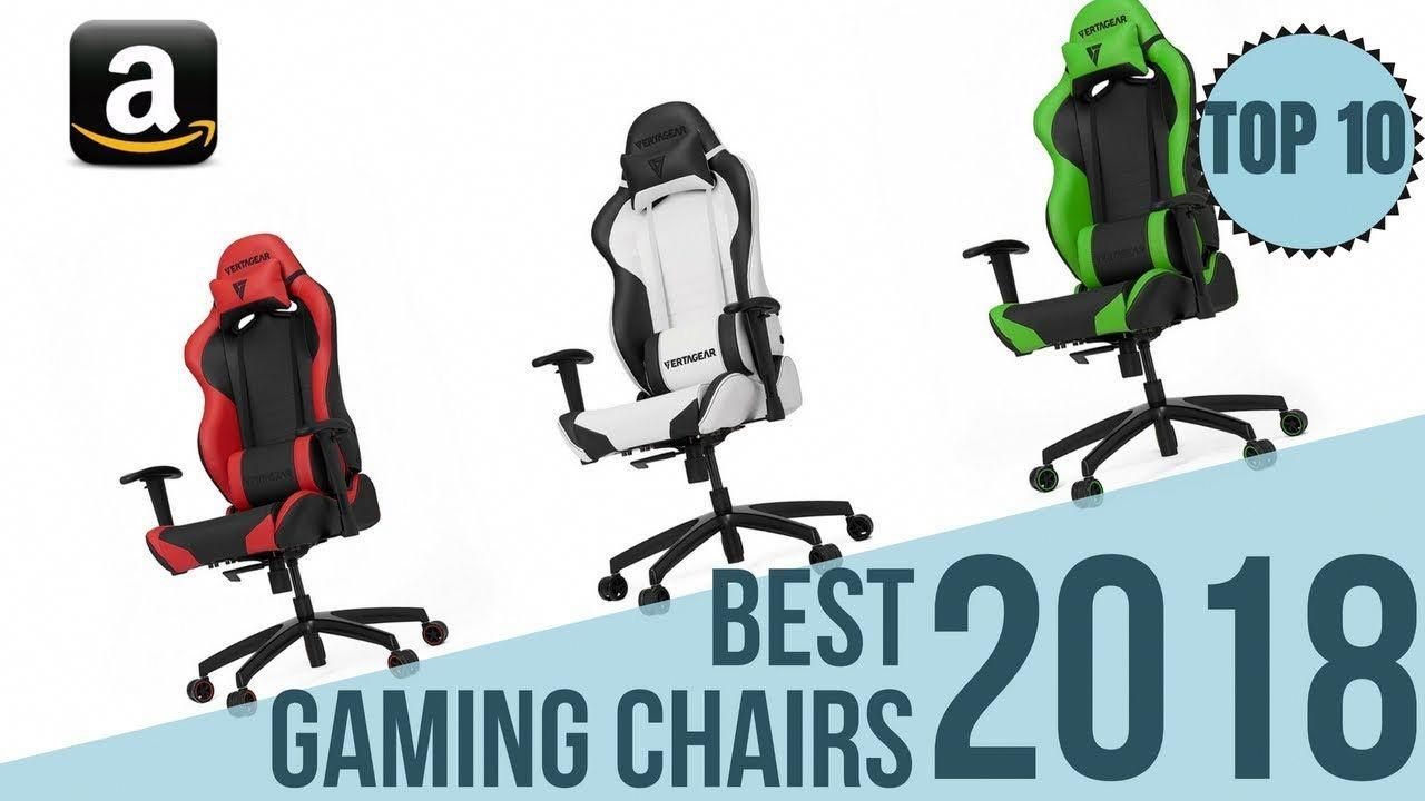 Stupendous Top 10 Best Gaming Chairs Of 2018 Amazon Gaming Chair Customarchery Wood Chair Design Ideas Customarcherynet