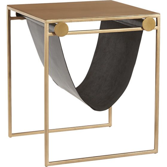 Best Saic Sling Nightstand Side Table Cb2 Furniture 640 x 480