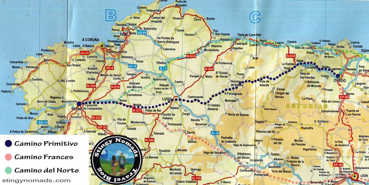Camino Primitivo Guide The Original Way To Santiago Camino De