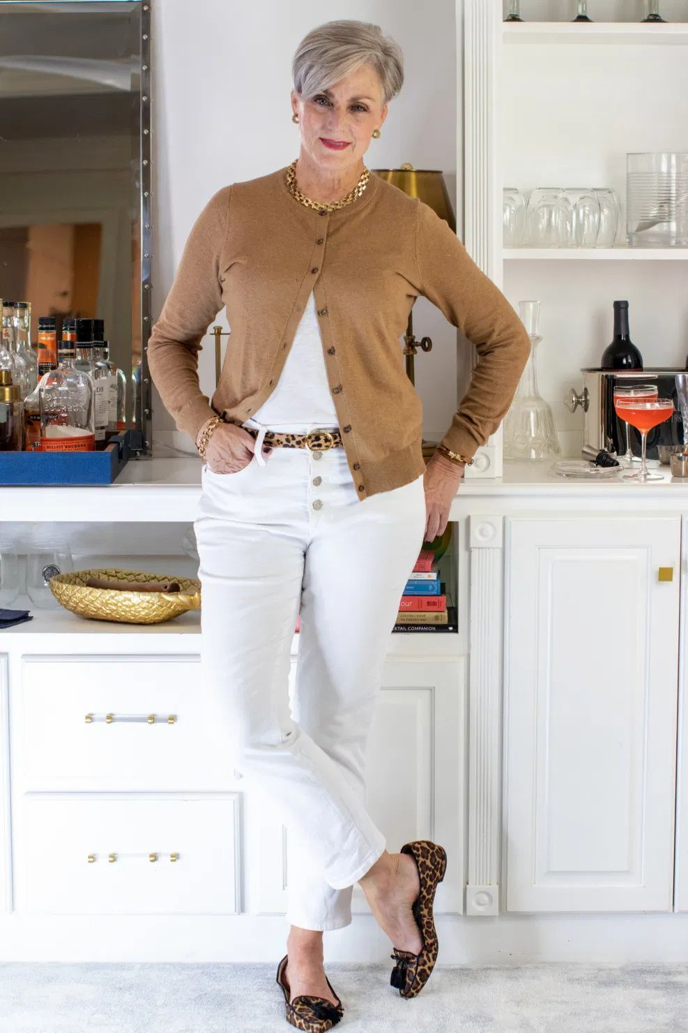 it's a white denim kind of day | fridays with oscar | Style At A Certain Age