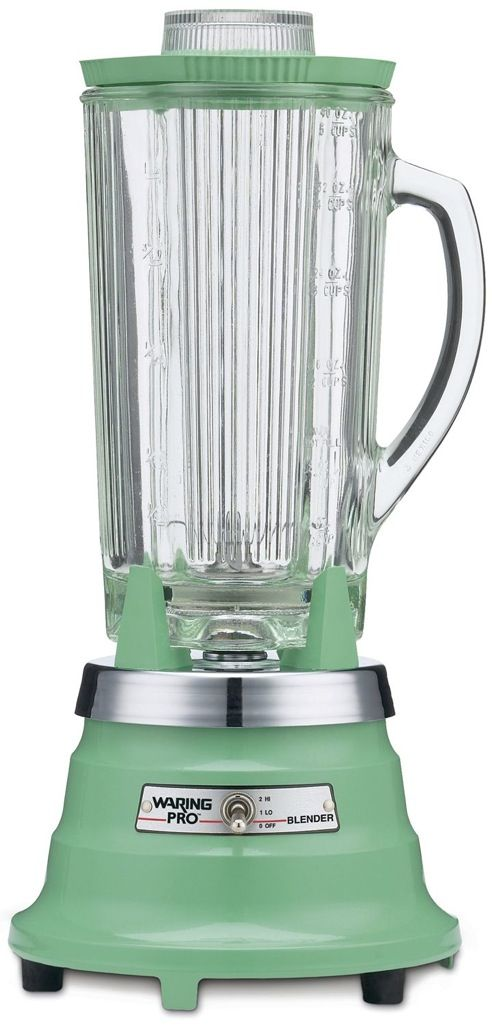 Retro Small Kitchen Appliances vintage-green / jadeite / jadite / pistachio waring blender. i got