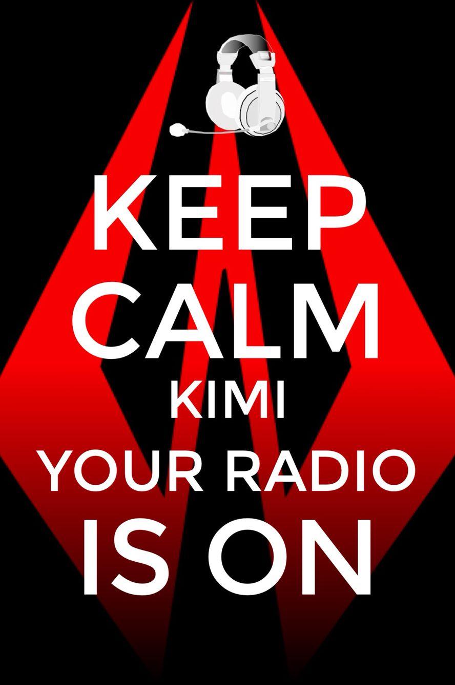 KIMI Radio Buzz. Designed by f1socialpress.com