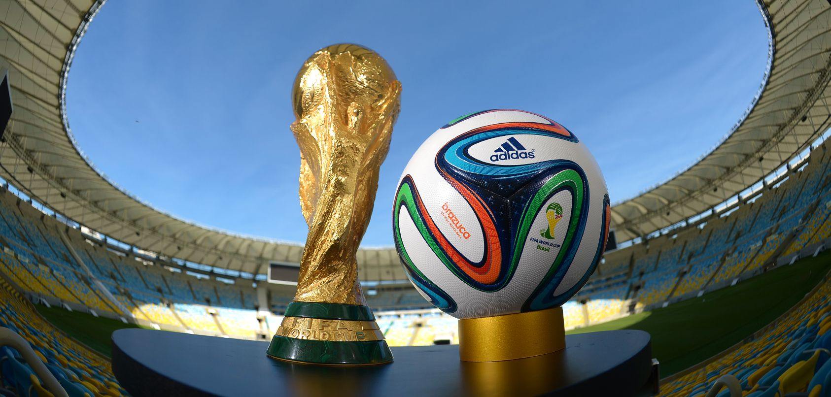 The Official 2014 FIFA World Cup Ball - adidas Brazuca...Available at SoccerPro NOW!