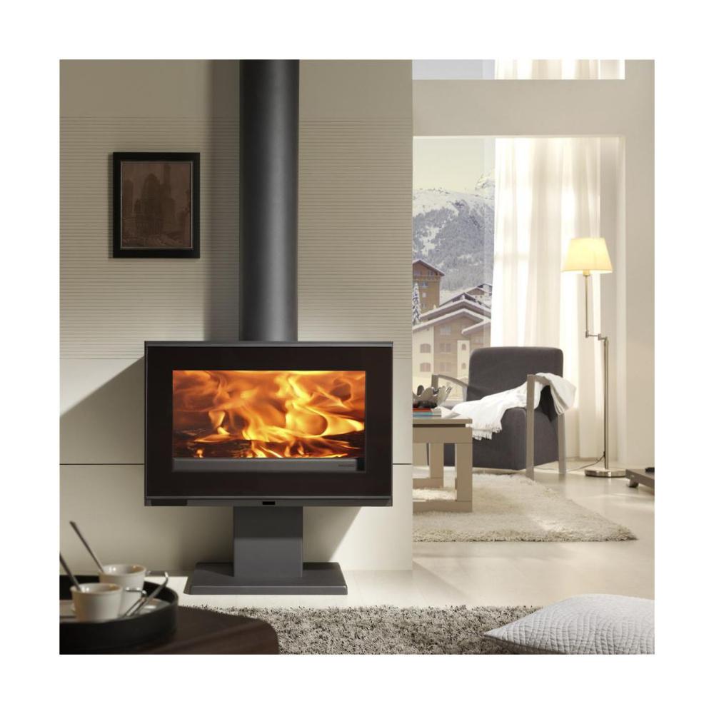 Piec Kominkowy Maja S Ecodesign 7 2kw Panadero Piece Kominkowe W Atrakcyjnej Cenie W Sklepach Leroy Merlin Fireplace Wood Burning Stove Home