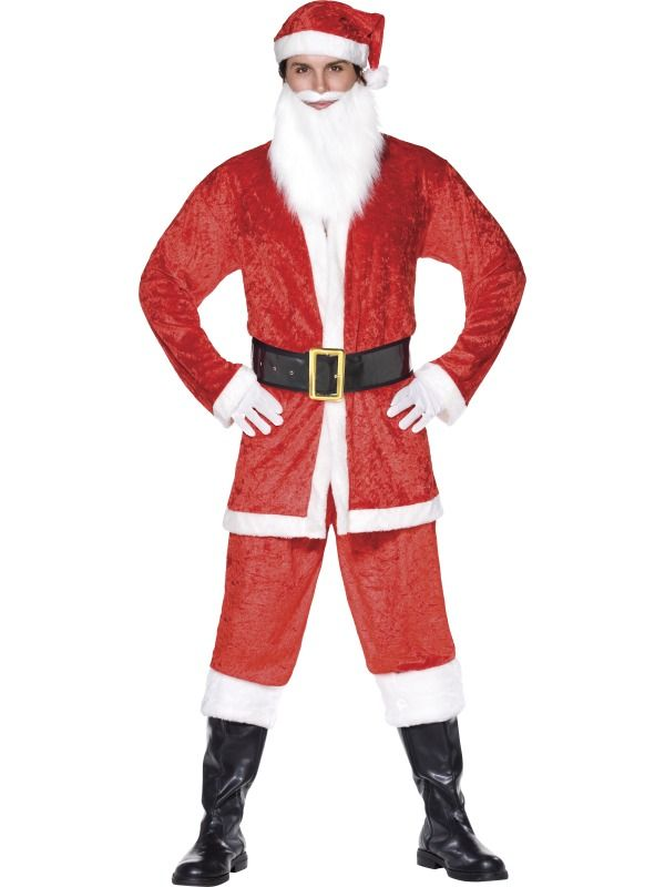Smiffy S Australia Costumes Uk Santa Costume Santa Fancy Dress