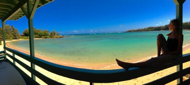 Imagine yourself....here...right on beautiful Kawela Bay