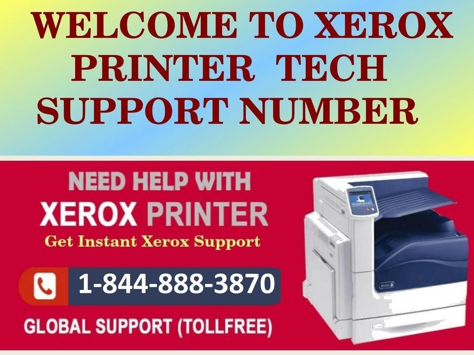 Xerox Printer Support Number Canada 1 844 888 3870 Image By