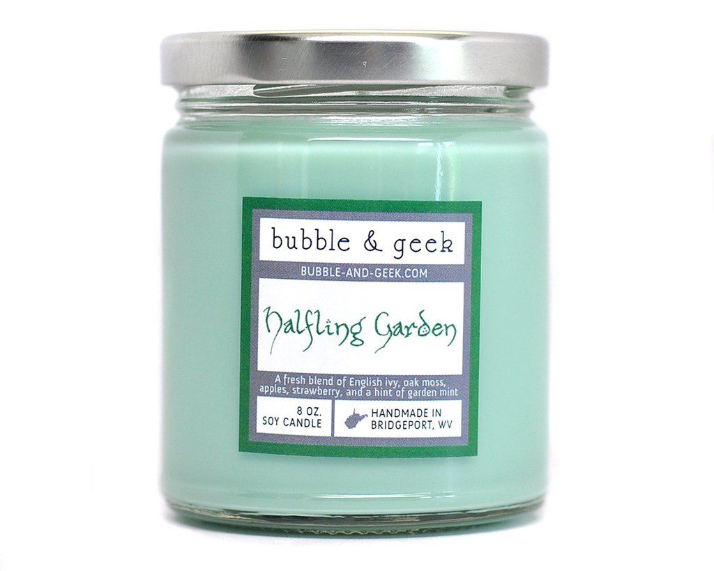 Halfling Garden Scented Soy Candle Soy Candle Jars Soy Candles Scented Soy Candles