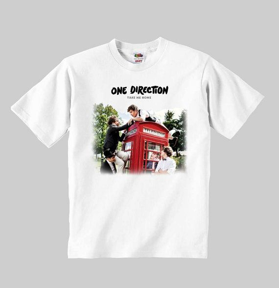 one direction shirt 1D model:take me home one direction t-shirt Childrens shirt suitablefor boys and girls 100 percent cotton clothing shirt
