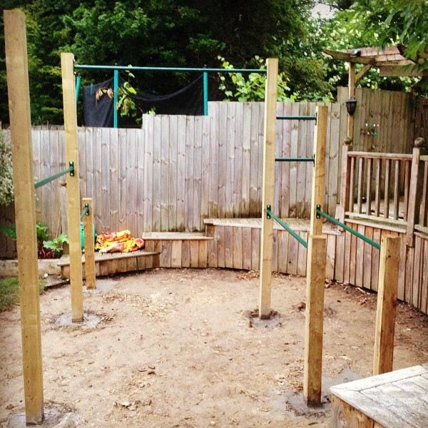 pulll up bar multigym | Backyard gym, Home gym design ...