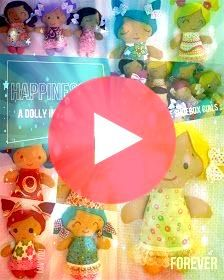 Dolls And Daydreams  Doll And Softie PDF Sewing Patterns Free Charity Easy Rag Doll Sewing Pattern  Small 10  8 inch dollies Dolls And Daydreams  Doll And Softie PDF Sewi...