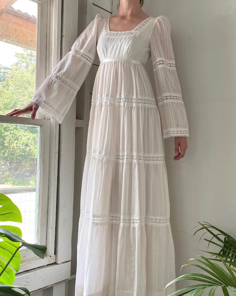 60s Swiss Dot Maxi Dress Maxi Dress Maxi Dress Cotton Dresses [ 1000 x 800 Pixel ]